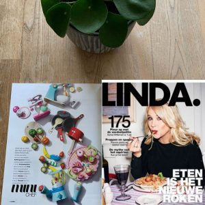 Sassefras Meisjes Speelgoed in de media, Linda nummer 175, februari 2019