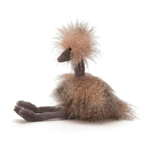 odette struisvogel van jellycat zijkant Sassefras Meisjes Speelgoed
